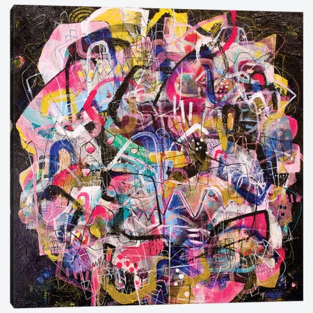 All Night Long Canvas Print #MYC27} by Mandy Yocom Art Print