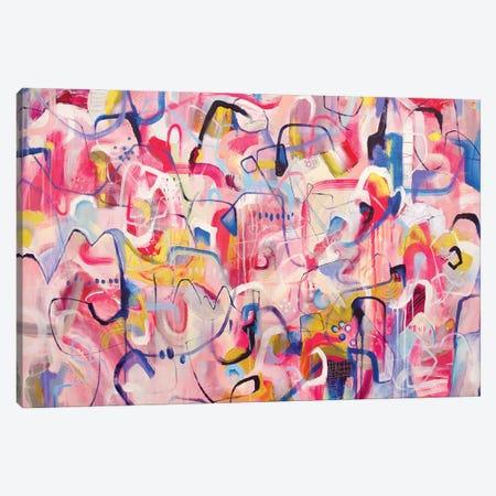 Life Is Like A Dream Canvas Print #MYC33} by Mandy Yocom Canvas Art Print