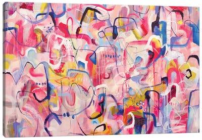 Life Is Like A Dream Canvas Art Print