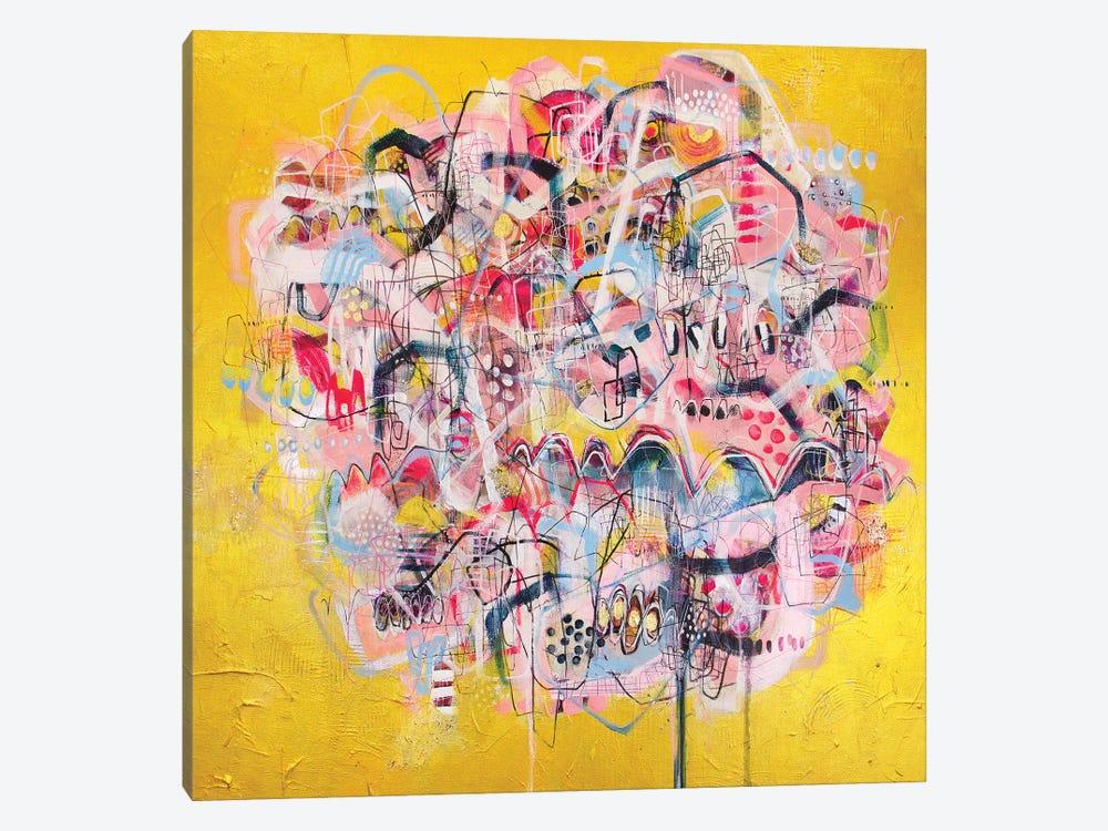 Show Me Whatcha Got by Mandy Yocom 1-piece Art Print