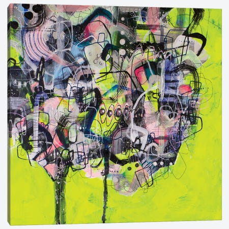 When Life Hands You Lemons Canvas Print #MYC35} by Mandy Yocom Canvas Art