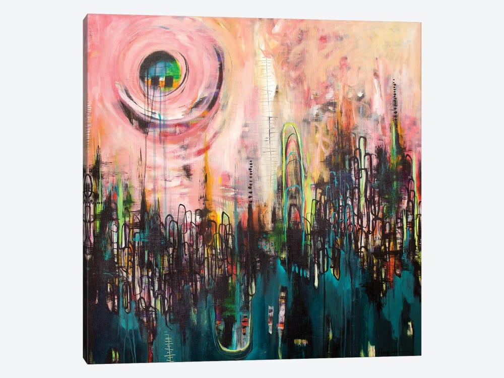 Hustle and Bustle by Mandy Yocom 1-piece Canvas Artwork