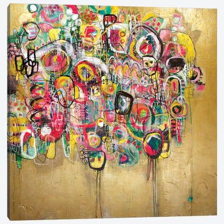 Flexin' Canvas Print #MYC9} by Mandy Yocom Canvas Art
