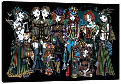 A Fairy Steampunk Circus Canvas Art Print