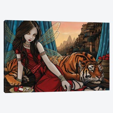 Tatiana Teagan 3-Piece Canvas #MYJ73} by Myka Jelina Canvas Artwork