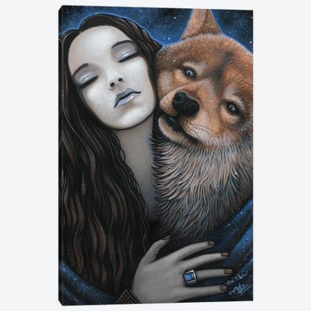 Ani Shadow Canvas Print #MYJ7} by Myka Jelina Canvas Art