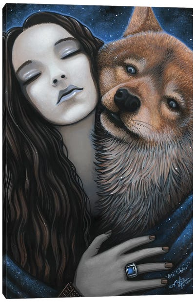 Ani Shadow Canvas Art Print