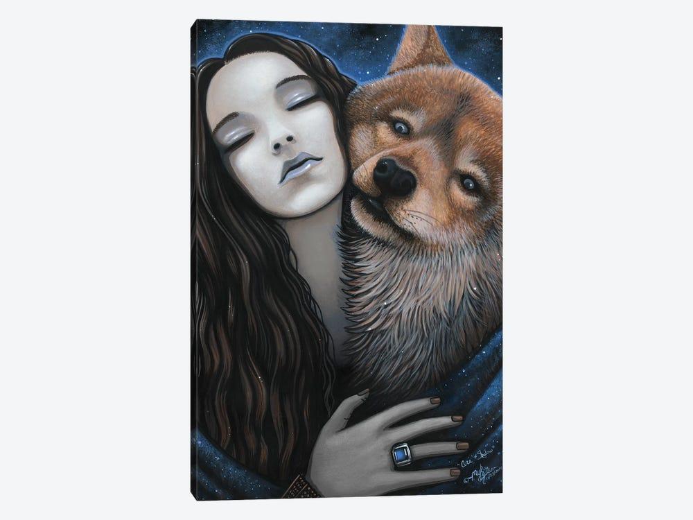 Ani Shadow by Myka Jelina 1-piece Canvas Art