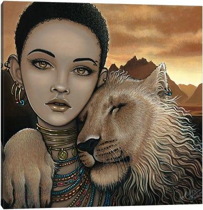 Zariel Akachi Canvas Art Print