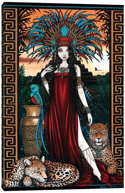 Zyanya Canvas Art Print