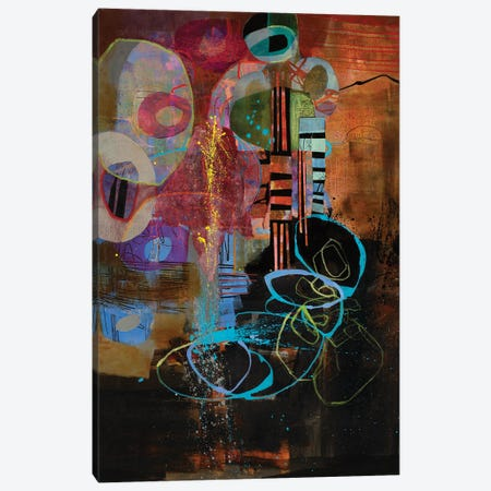 Gabber Yabber Canvas Print #MYM13} by Mary Marley Canvas Print