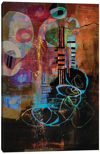 Gabber Yabber Canvas Art Print