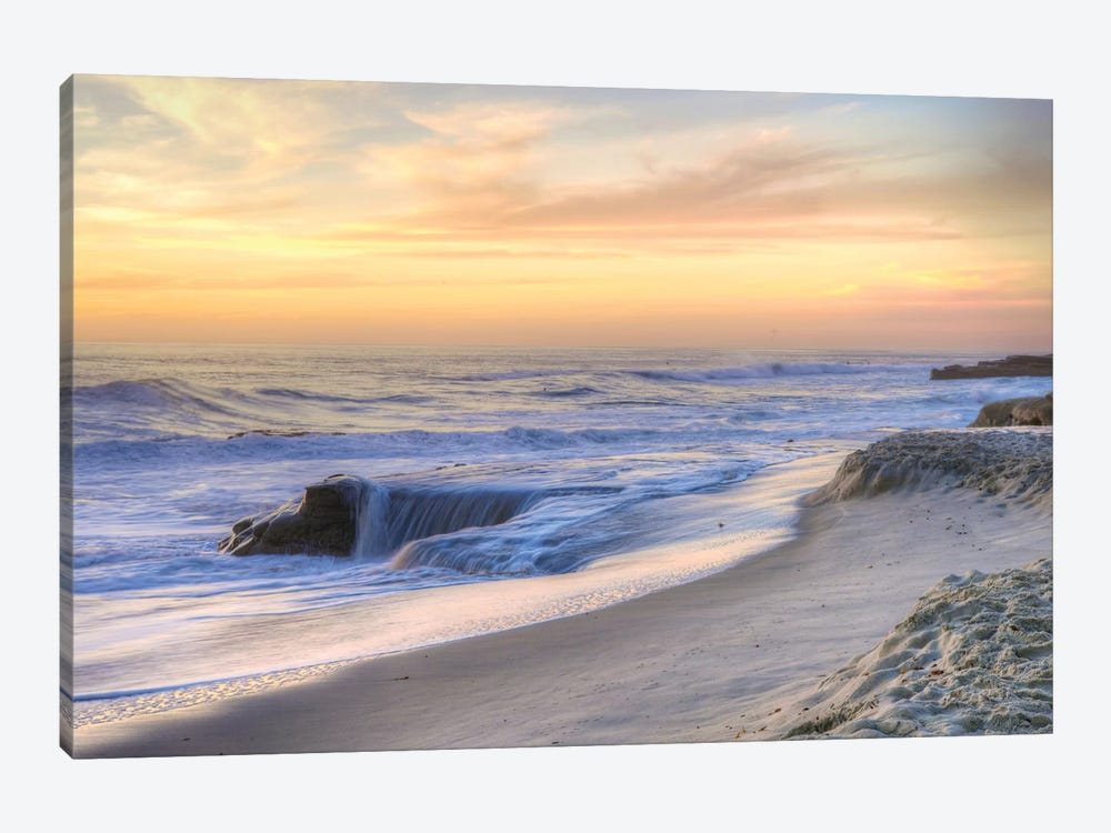 La Jolla Sunset by Dean Mayo 1-piece Art Print