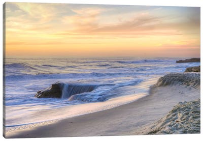 La Jolla Sunset Canvas Art Print