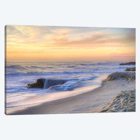 La Jolla Sunset Canvas Print #MYO1} by Dean Mayo Canvas Artwork