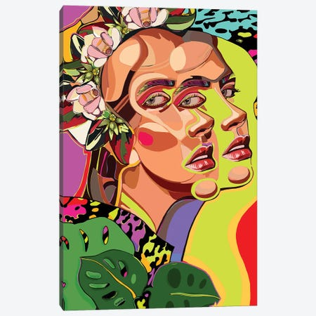 Mother Nature Canvas Print #MYU12} by Mahsa Yousefi Canvas Art Print