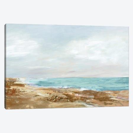 Coastal Stroll I Canvas Print #MYW1} by Maya Woods Art Print