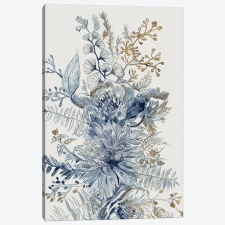 Royal Blue I Canvas Print #MYW7} by Maya Woods Canvas Wall Art
