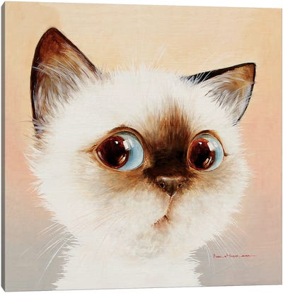 Incredulous Canvas Art Print