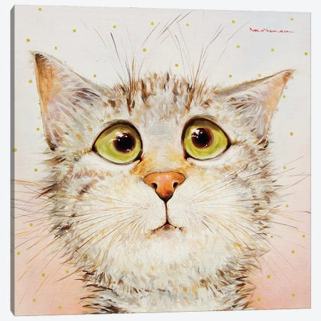 Amazing! Canvas Print #MZR1} by Moozoriki Canvas Print
