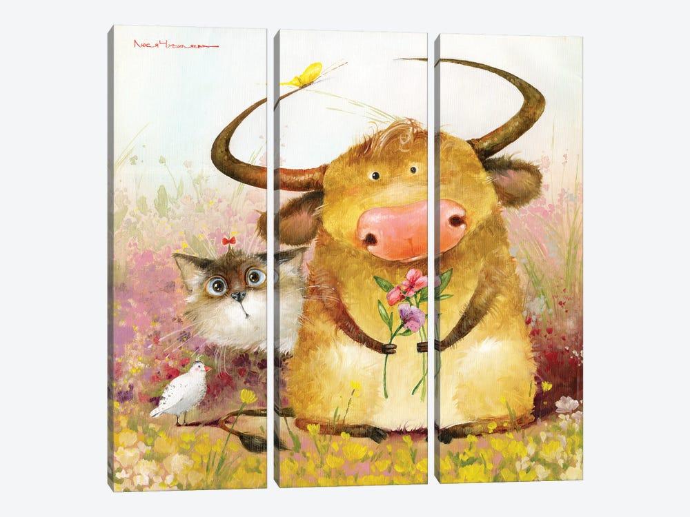 Such A Company by Moozoriki 3-piece Canvas Wall Art