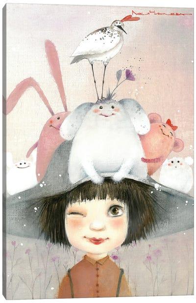Miracle Hat Canvas Art Print