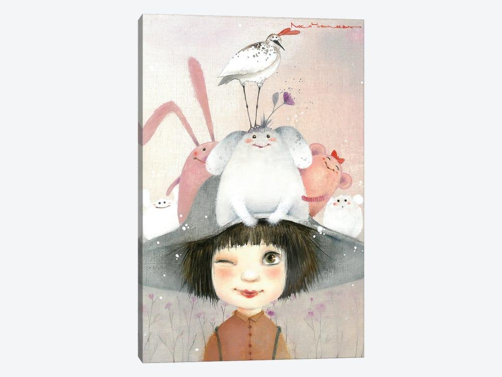 Miracle Hat by Moozoriki 1-piece Canvas Print