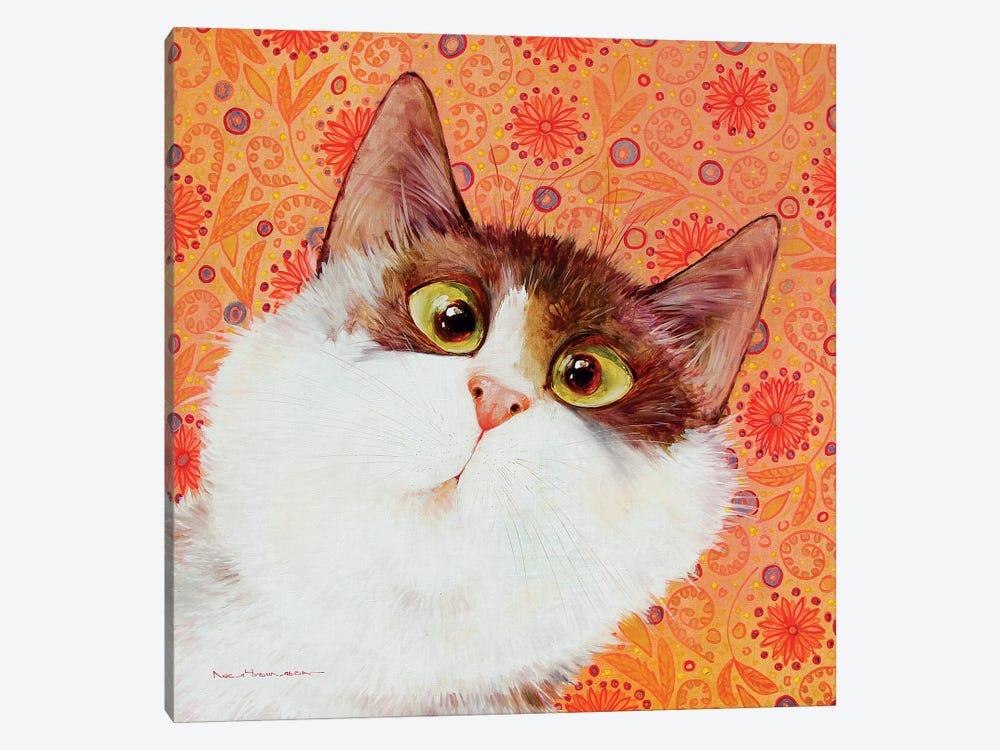 Oh! by Moozoriki 1-piece Canvas Art Print