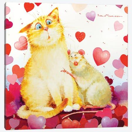 Limitless Love Canvas Print #MZR36} by Moozoriki Art Print