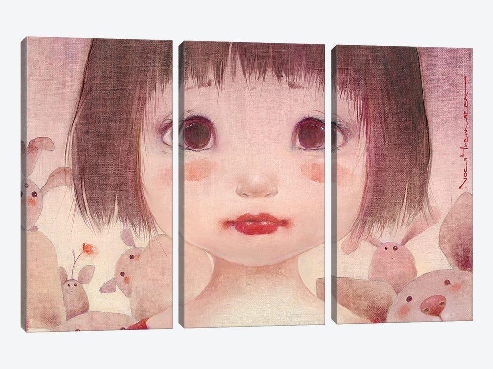 Sasha by Moozoriki 3-piece Canvas Art Print