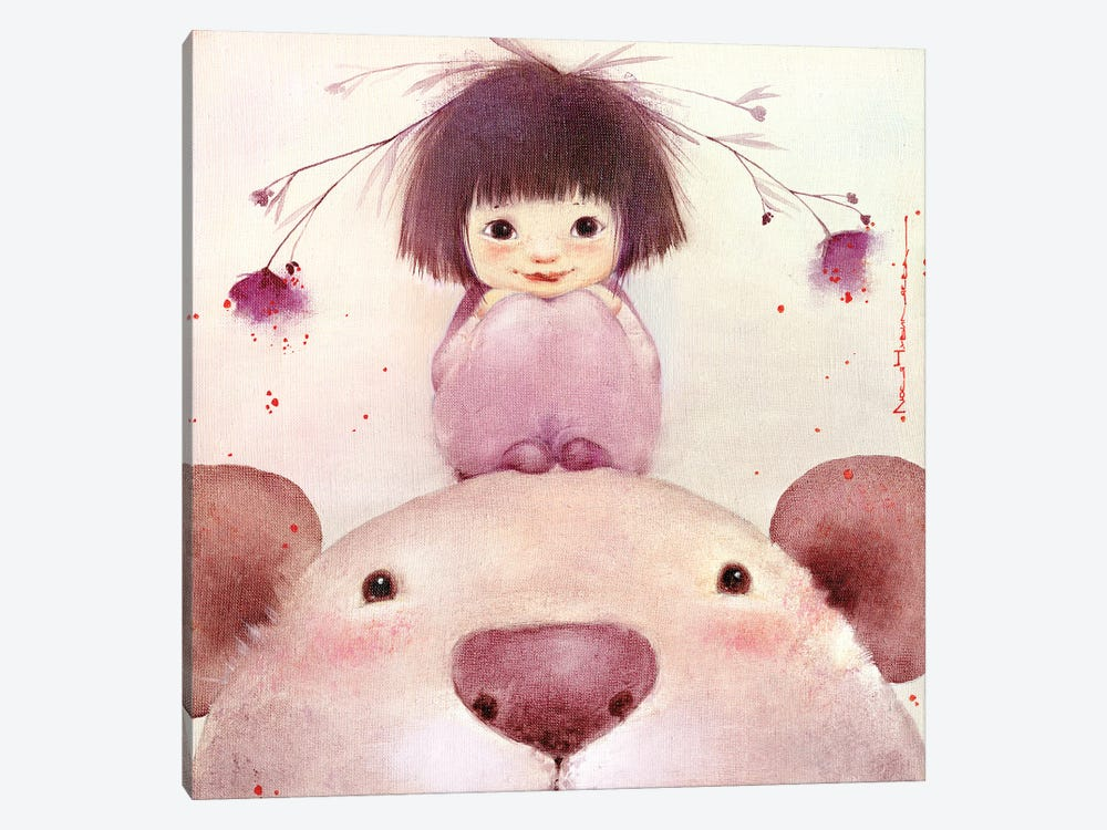Big And Kind Buba by Moozoriki 1-piece Canvas Artwork