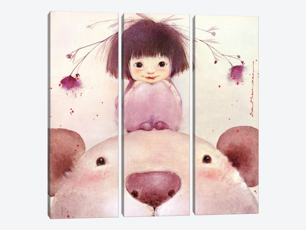 Big And Kind Buba by Moozoriki 3-piece Canvas Art