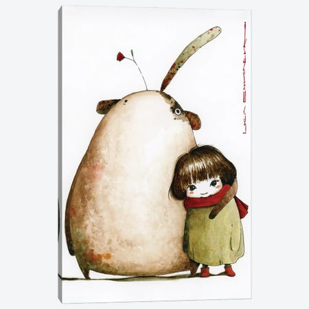 Sasha And Vilor From The Social Democratic Planet Of Marxei Canvas Print #MZR67} by Moozoriki Canvas Artwork