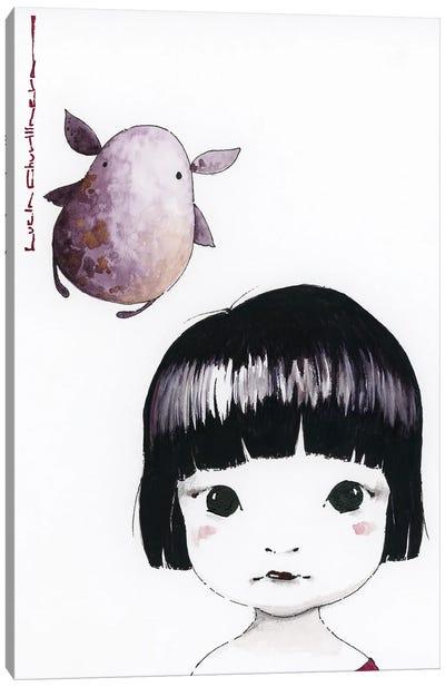 Sasha And Vovchik Canvas Art Print