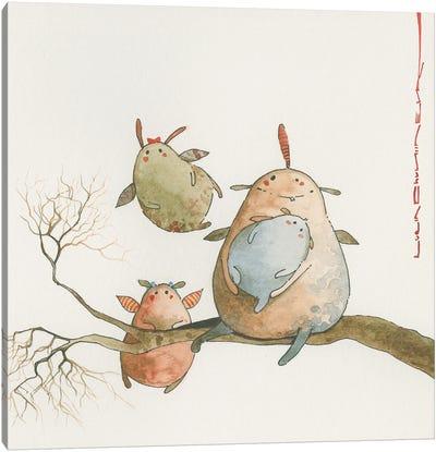 Zuzira-Mamanand Her Little Zuzittens Canvas Art Print