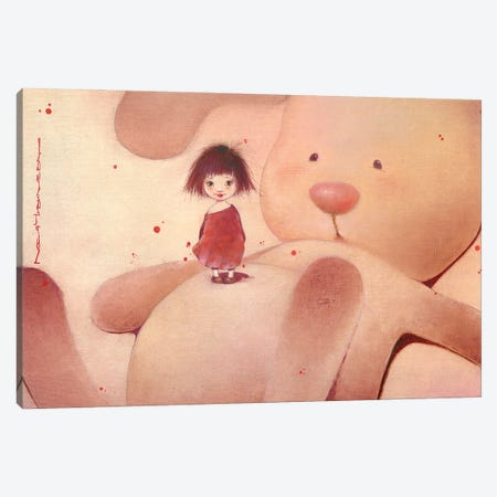 Cozy Canvas Print #MZR8} by Moozoriki Canvas Art Print