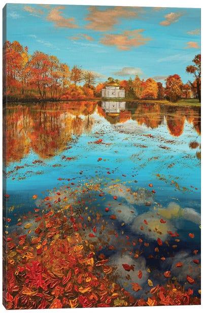 Gold Autumn Canvas Art Print