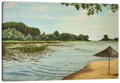 Kizan River Canvas Art Print