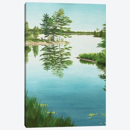 Mirror Of Life Canvas Print #MZT16} by Marina Zotova Canvas Print