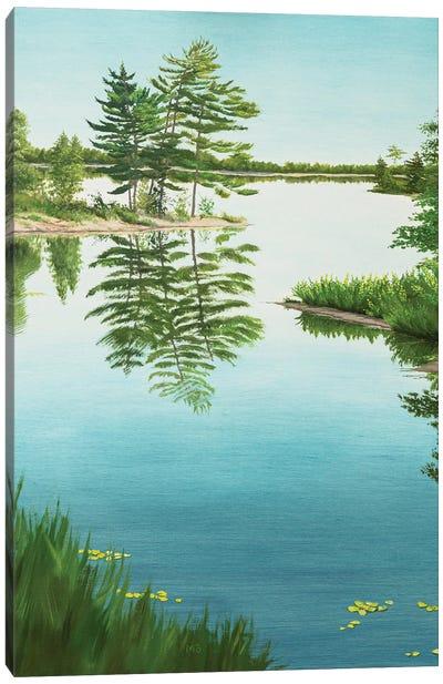 Mirror Of Life Canvas Art Print