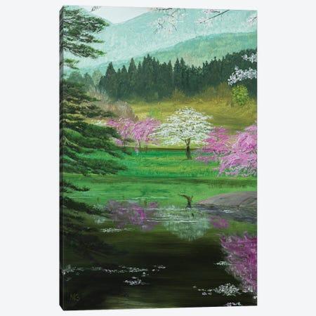 Spring In Japan Canvas Print #MZT22} by Marina Zotova Canvas Print