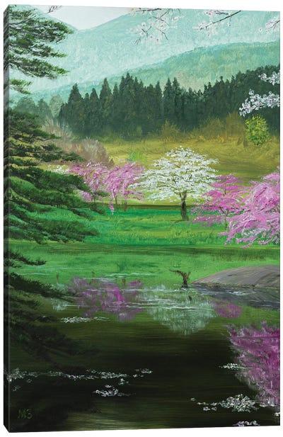 Spring In Japan Canvas Art Print