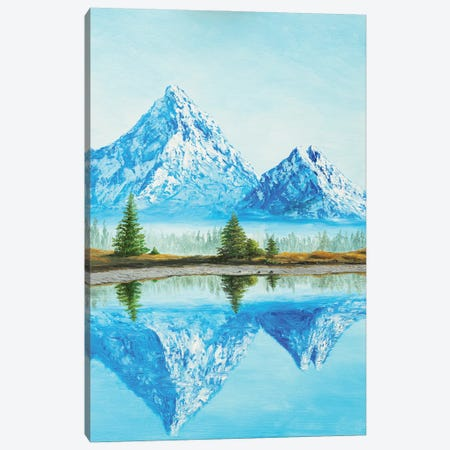The Greatness Of The Mountains Canvas Print #MZT24} by Marina Zotova Canvas Art