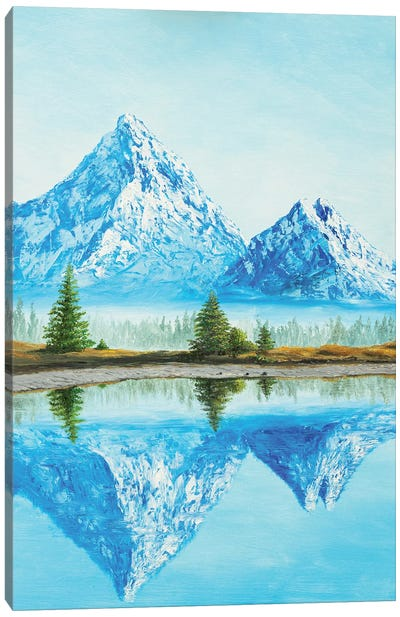The Greatness Of The Mountains Canvas Art Print