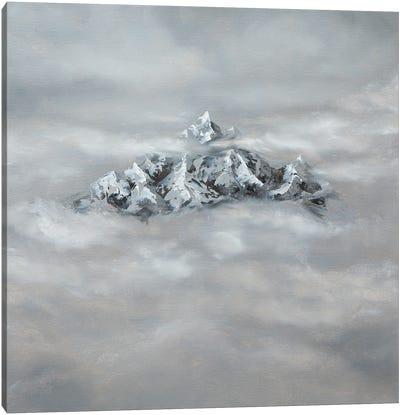 Through The Clouds Canvas Art Print