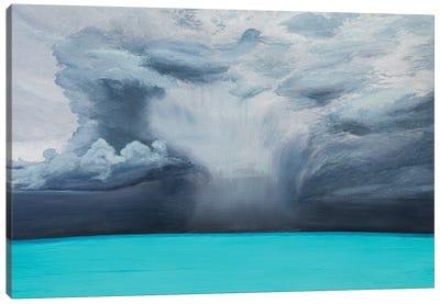 Tropical Thunderstorm Canvas Art Print