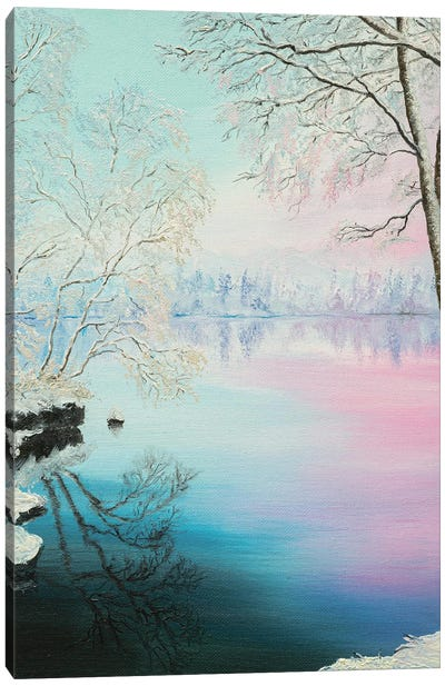 Winter Morning Canvas Art Print