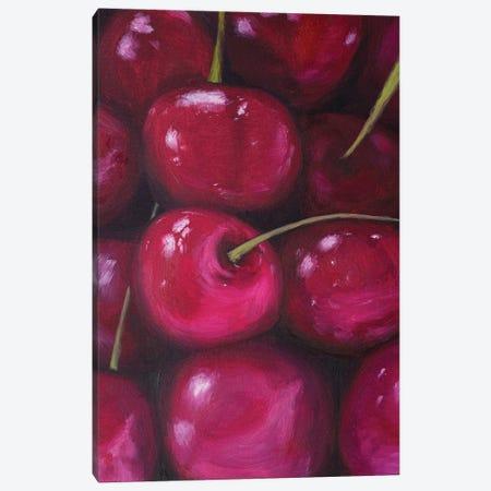 Juicy Cherries Canvas Print #MZT31} by Marina Zotova Canvas Art