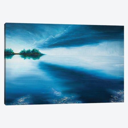 Blue Sunset Canvas Print #MZT4} by Marina Zotova Canvas Artwork
