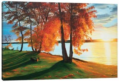 Charming Autumn Canvas Art Print